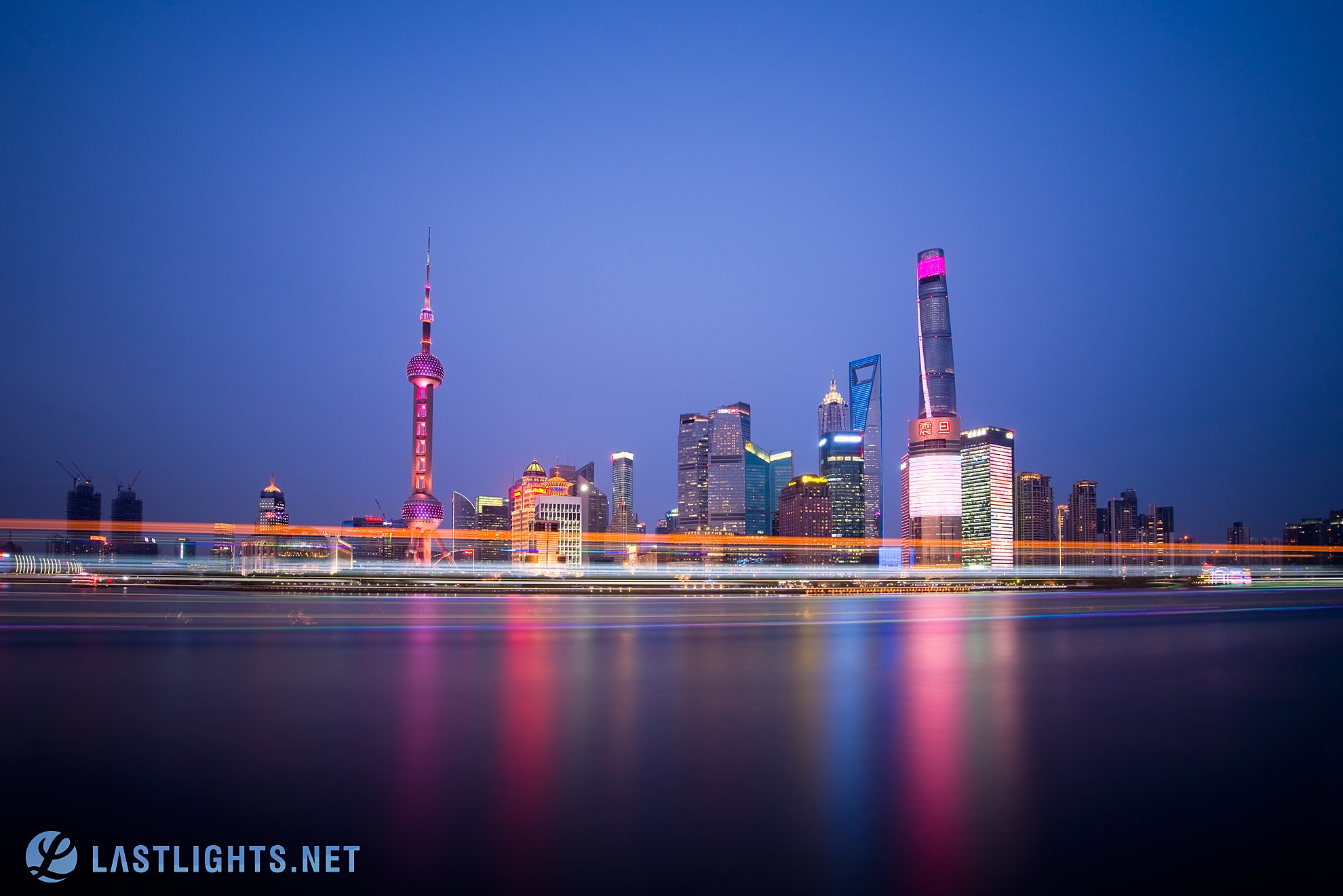 Shanghai Skyline from The Bund, China